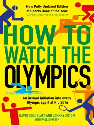 cover image of How to Watch the Olympics
