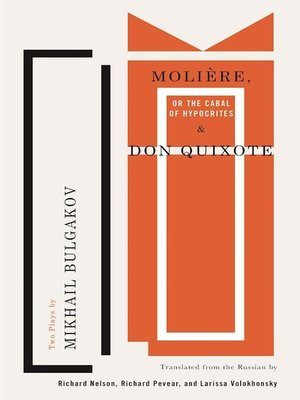 cover image of Molière, or the Cabal of Hypocrites and Don Quixote