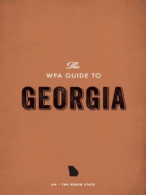 cover image of The WPA Guide to Georgia