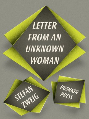 cover image of Letter from an Unknown Woman and other stories