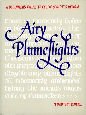 cover image of Airy Plumeflights