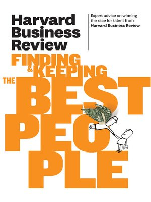 cover image of Harvard Business Review on Finding & Keeping the Best People