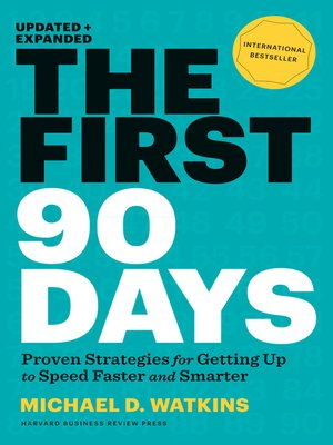 cover image of The First 90 Days, Updated and Expanded