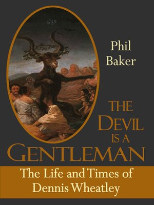 cover image of The Devil is a Gentleman