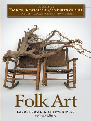 cover image of Volume 23: Folk Art