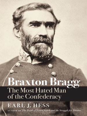 cover image of Braxton Bragg