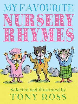cover image of My Favourite Nursery Rhymes