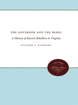 cover image of The Governor and the Rebel
