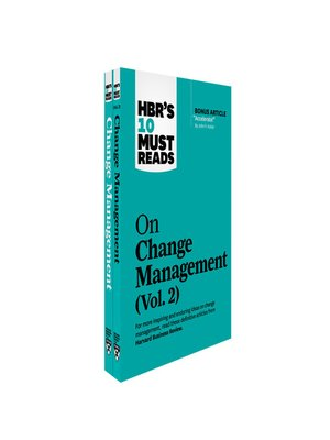 cover image of HBR's 10 Must Reads on Change Management 2-Volume Collection