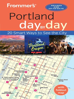 cover image of Frommer's Portland day by day