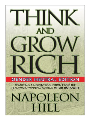 cover image of Think and Grow Rich (Gender Neutral Edition)