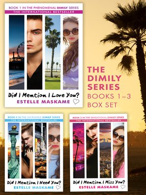 cover image of The Did I Mention I Love You? Trilogy
