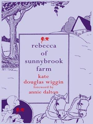 rebecca of sunnybrook farm wiggin kate douglas bauer marion dane