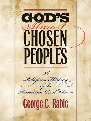 cover image of God's Almost Chosen Peoples