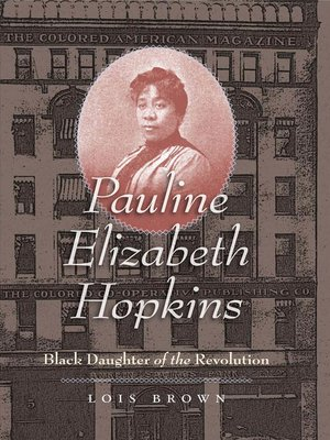 cover image of Pauline Elizabeth Hopkins