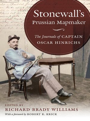 cover image of Stonewall's Prussian Mapmaker