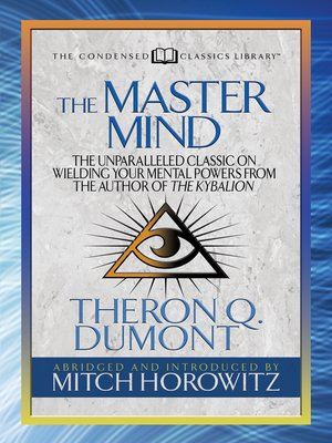 cover image of The Master Mind (Condensed Classics)