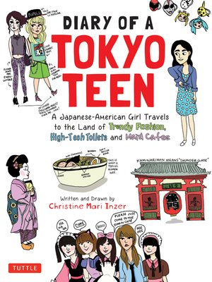 cover image of Diary of a Tokyo Teen