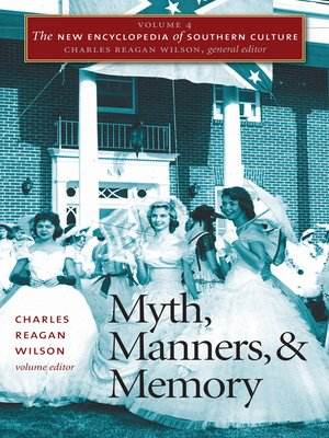 cover image of Volume 4: Myth, Manners, and Memory