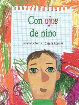 cover image of Con ojos de niño (Through the Eyes of a Child)