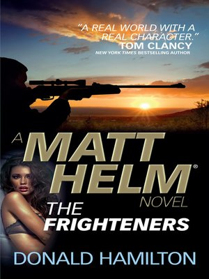 cover image of Matt Helm--The Frighteners