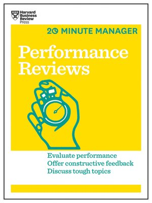 cover image of Performance Reviews (HBR 20-Minute Manager Series)