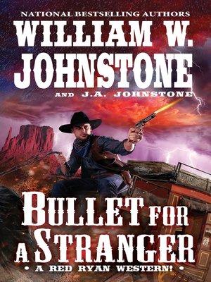 cover image of Bullet for a Stranger