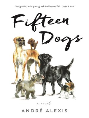 cover image of Fifteen Dogs