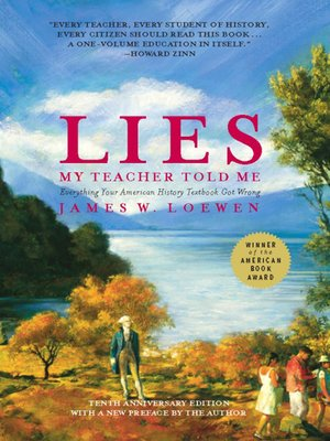 cover image of Lies My Teacher Told Me
