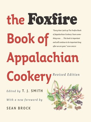 cover image of The Foxfire Book of Appalachian Cookery