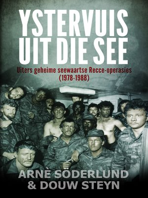 cover image of Ystervuis Uit Die See