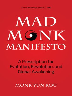cover image of The Mad Monk Manifesto