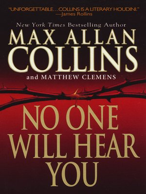 cover image of No One Will Hear You