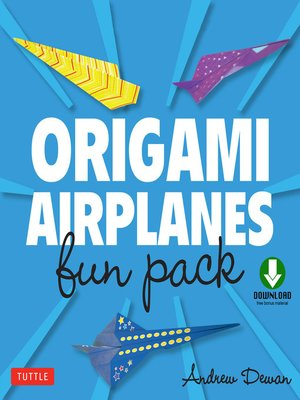 cover image of Origami Airplanes Fun Pack
