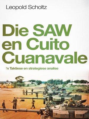 cover image of Die SAW en Cuito Cuanaval