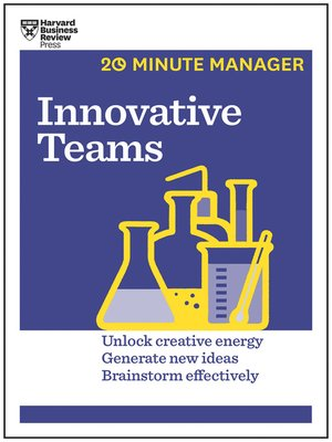cover image of Innovative Teams (HBR 20-Minute Manager Series)