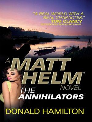 cover image of Matt Helm--The Annihilators