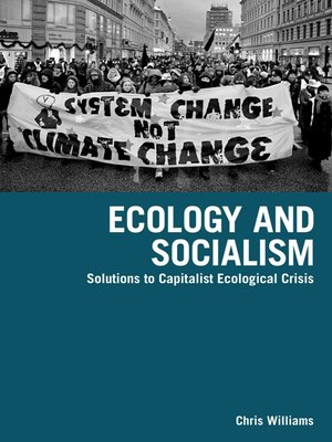cover image of Ecology and Socialism