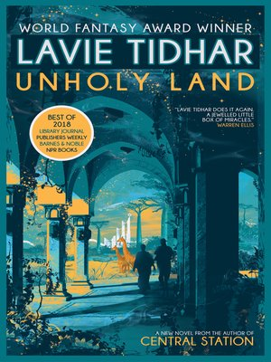 cover image of Unholy Land