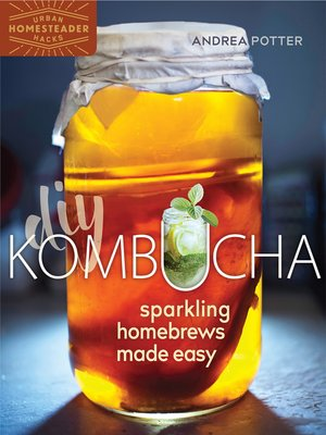 cover image of DIY Kombucha