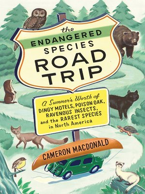 cover image of The Endangered Species Road Trip