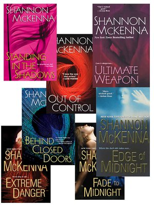 cover image of Shannon McKenna's McCloud Brothers Bundle