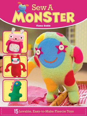 cover image of Sew a Monster