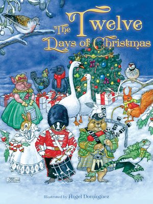 cover image of The Twelve Days of Christmas