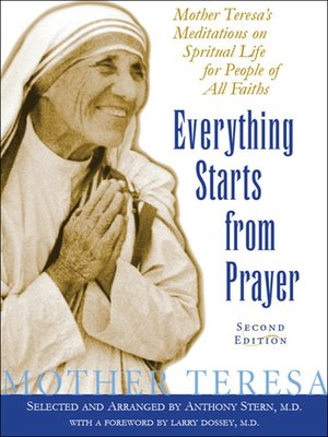 cover image of Everything Starts from Prayer