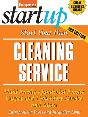 cover image of Start Your Own Cleaning Service