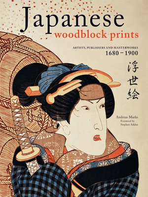 cover image of Japanese Woodblock Prints