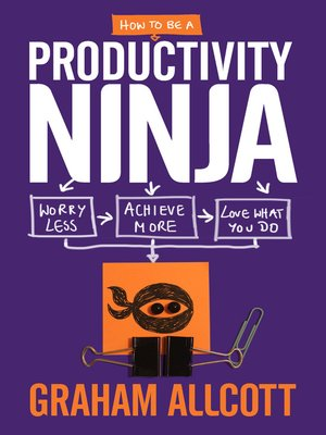 cover image of How to be a Productivity Ninja