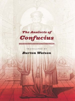 cover image of The Analects of Confucius