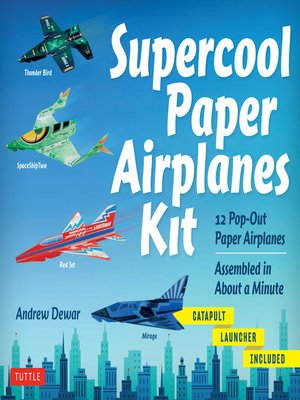 cover image of Supercool Paper Airplanes Ebook